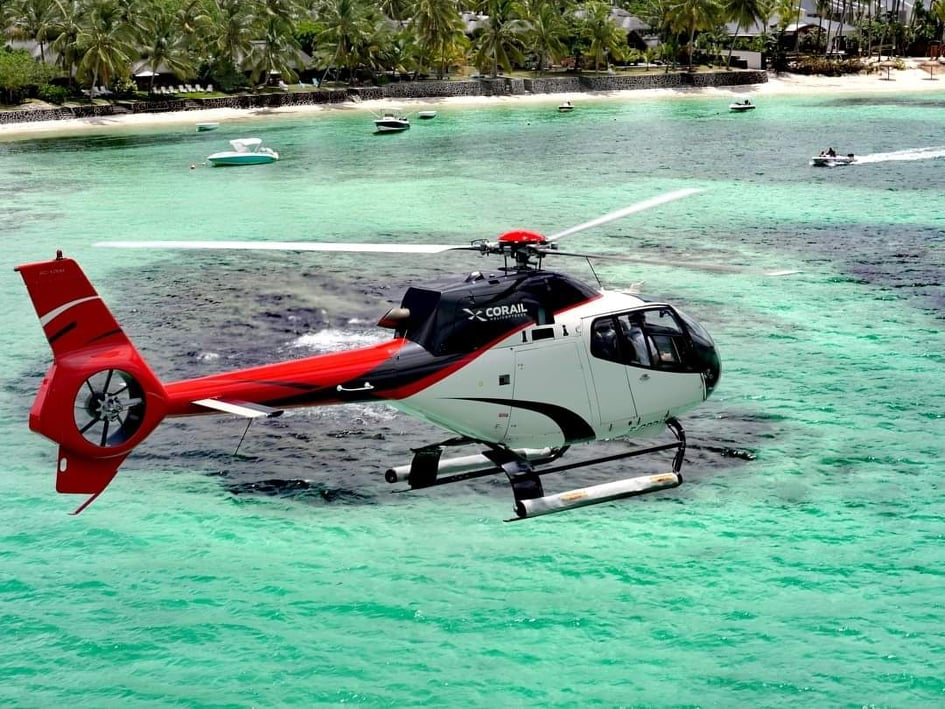 Corail Helico  Mauritius