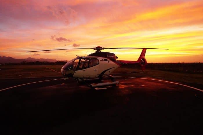 直升机-赏日落