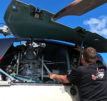 maintenance h120 corail helicopteres